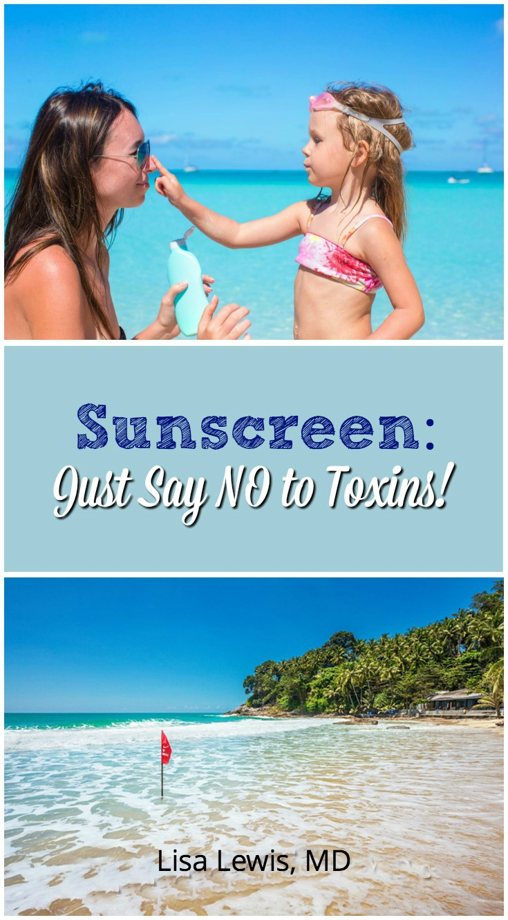 """Buying Sunscreen to prevent sunburn? Avoid the ingredient """"Oxybenzone"""" and """"Retinyl Palmitate."""" Here's a list of safe sunscreens for children and babies."""