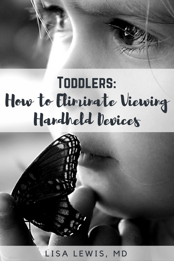 Toddlers and handheld devices