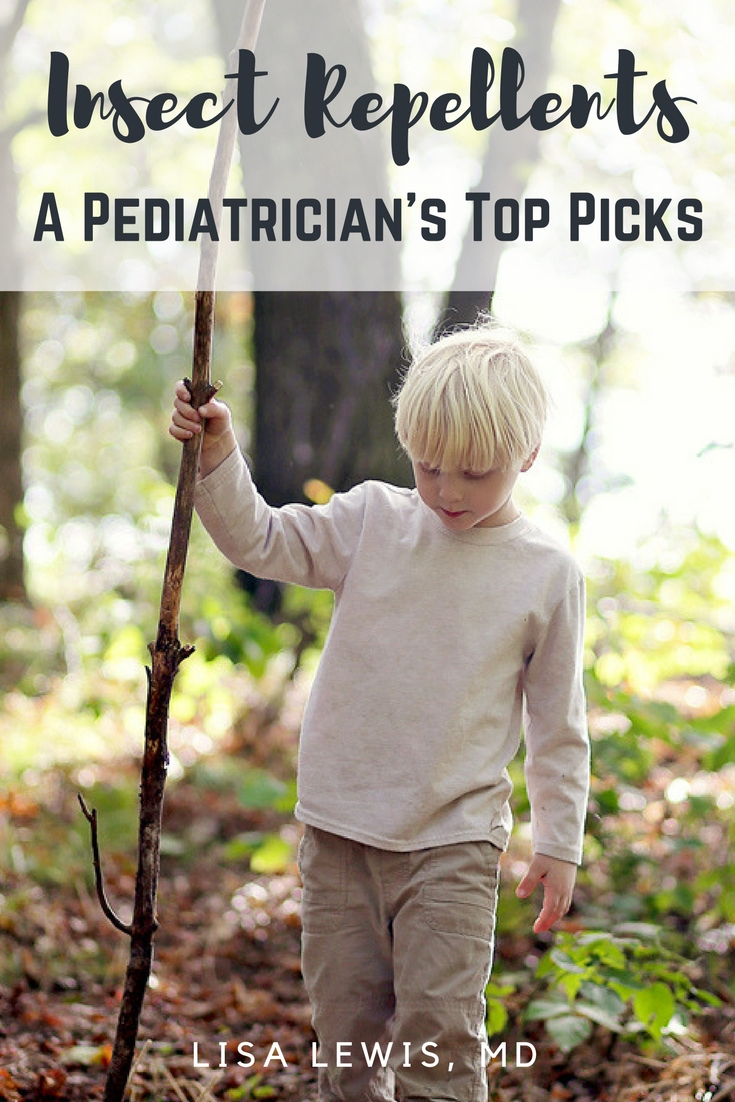 Insect repellents: a pediatrician's top picks